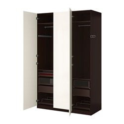 pax system combinations with doors ikea. Black Bedroom Furniture Sets. Home Design Ideas