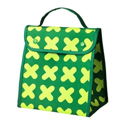 ERFORDERLIG lunch bag, green Length: 24 cm Width: 18 cm Height: 25 cm