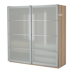 Pax armoire penderie ikea - Armoire chene blanchi ...