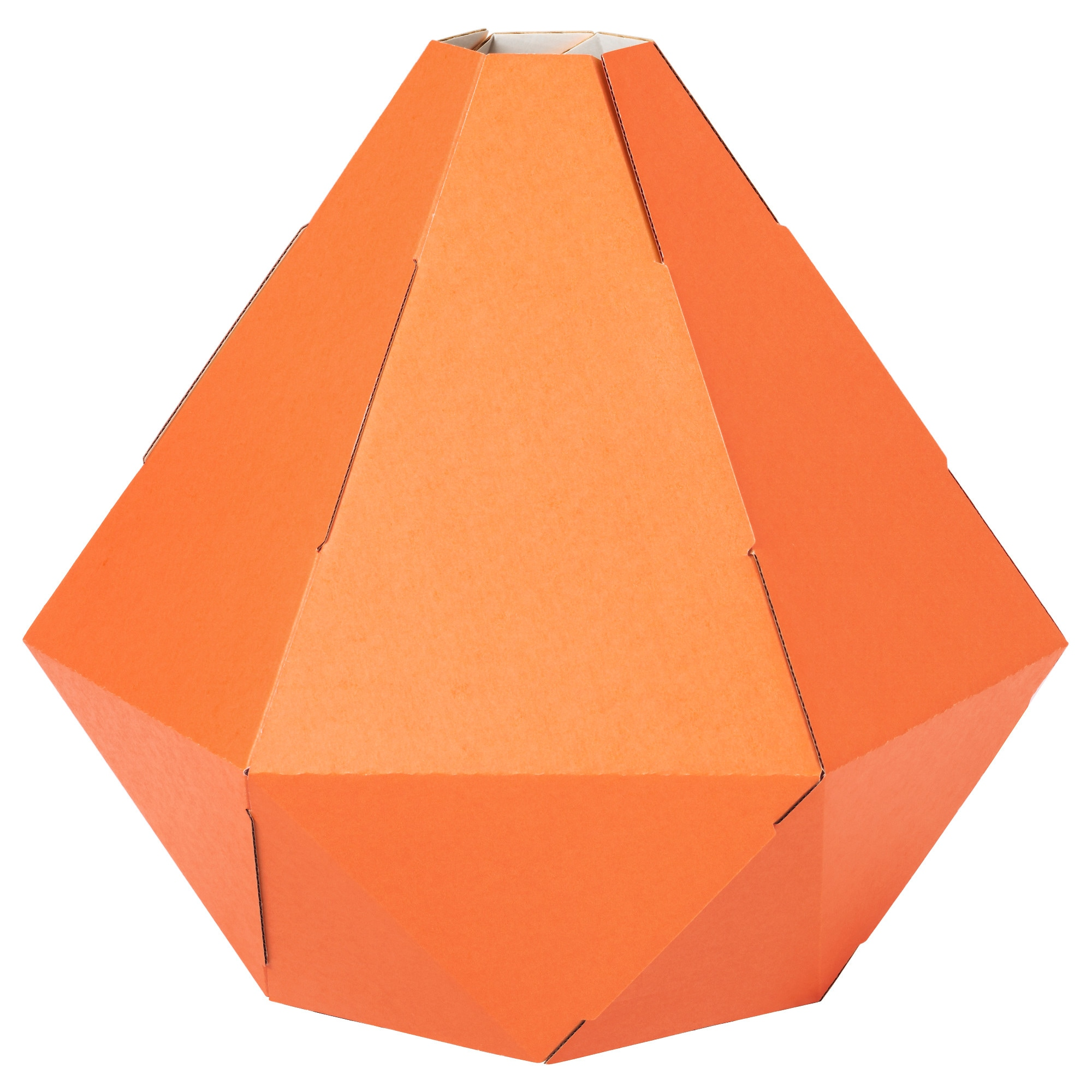 Orange and turquoise lamp shade - Joxtorp Pendant Lamp Shade Orange Height 13 Diameter 11 Height