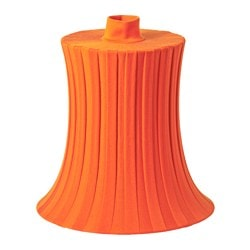 ÄMTEVIK lamp shade, orange Diameter: 37 cm Height: 37 cm