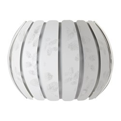 ÖVERUD lamp shade, white Diameter: 43 cm Height: 33 cm