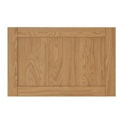 HANVIKEN door/drawer front, oak effect Width: 60 cm Height: 38 cm