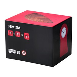 "BEVISA card game, 35 pairs Length: 4 ¼ "" Width: 3 ½ "" Height: 3 ½ "" Length: 10.8 cm Width: 9 cm Height: 8.6 cm"