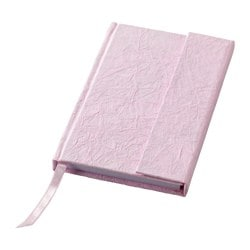 KÄRESTA note-book, pink Length: 15 cm Width: 10 cm Surface density: 80 g/m²