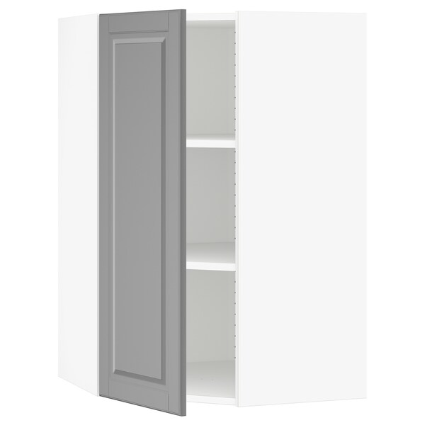 Sektion Murale D'angle tablettes BlancBodbyn Armoire Gris JFcuK1Tl3