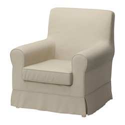 JENNYLUND armchair cover, Ramna beige