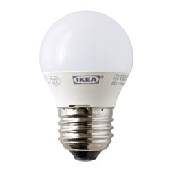 LEDARE LED bulb E26 200 lumen, globe opal white Luminous flux: 200 lm Power: 3.5 W