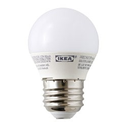 LEDARE LED bulb E26 200 lumen, globe opal Luminous flux: 200 Lumen Power: 3.5 W Luminous flux: 200 Lumen Power: 3.5 W