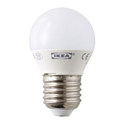 LEDARE LED bulb E27 200 lumen, globe opal white Luminous flux: 200 lm Power: 3.5 W