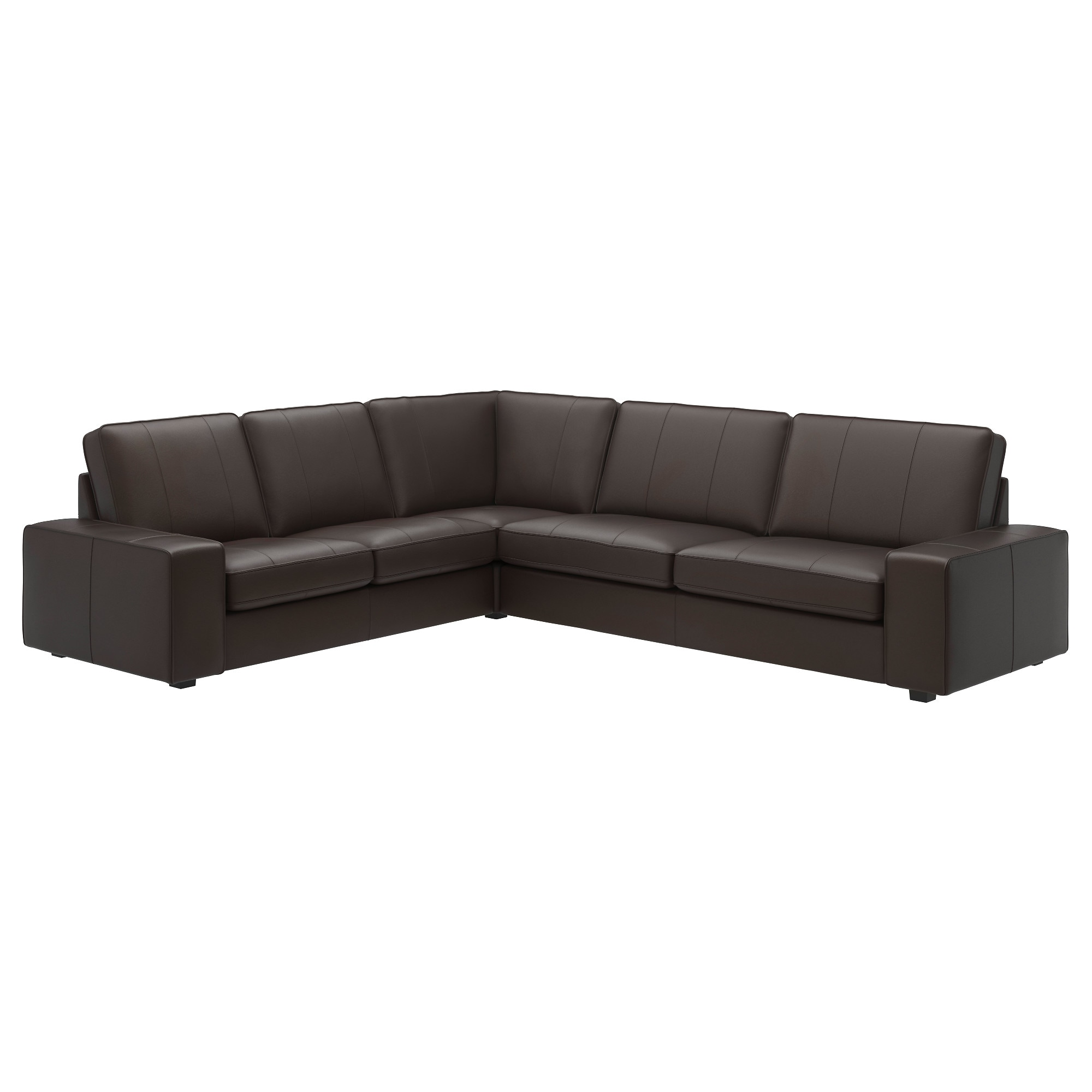 Leather Faux Leather Sectional Sofas IKEA