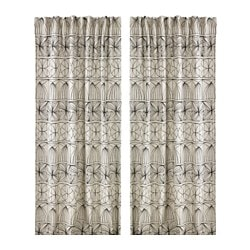 RYSSBY 2014 curtains, 1 pair, assorted patterns Length: 300 cm Width: 145 cm Package quantity: 2 pieces