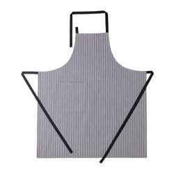 IKEA 365+ apron, grey Length: 100 cm