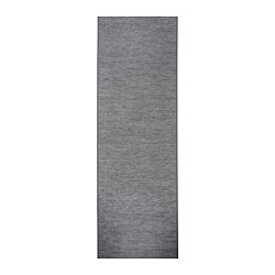 FÖNSTERVIVA panel curtain, dark grey Length: 300 cm Width: 60 cm Weight: 0.50 kg