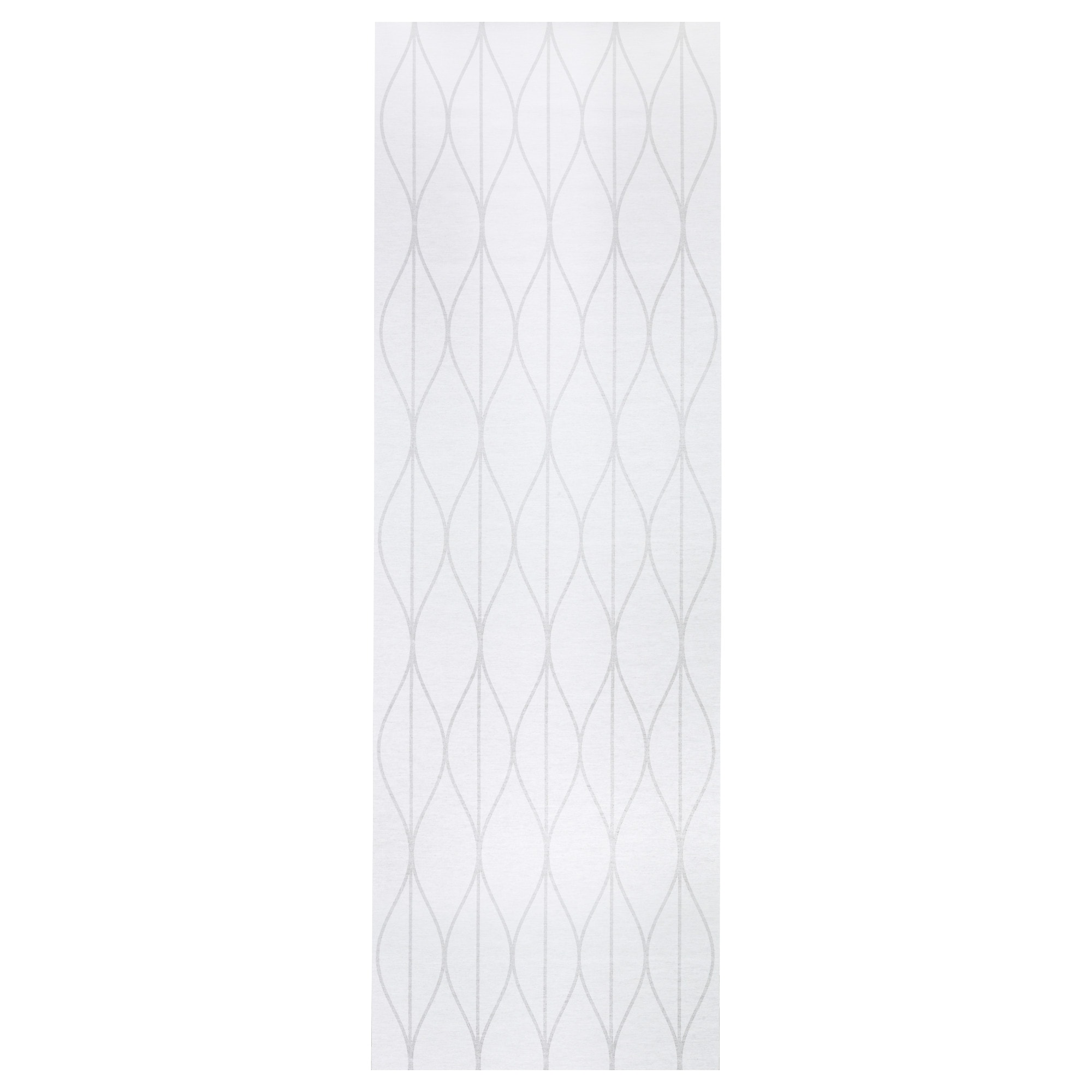 Ikea white curtains with red pattern - Grynet Panel Curtain White Length 118 Width 24 Weight 1