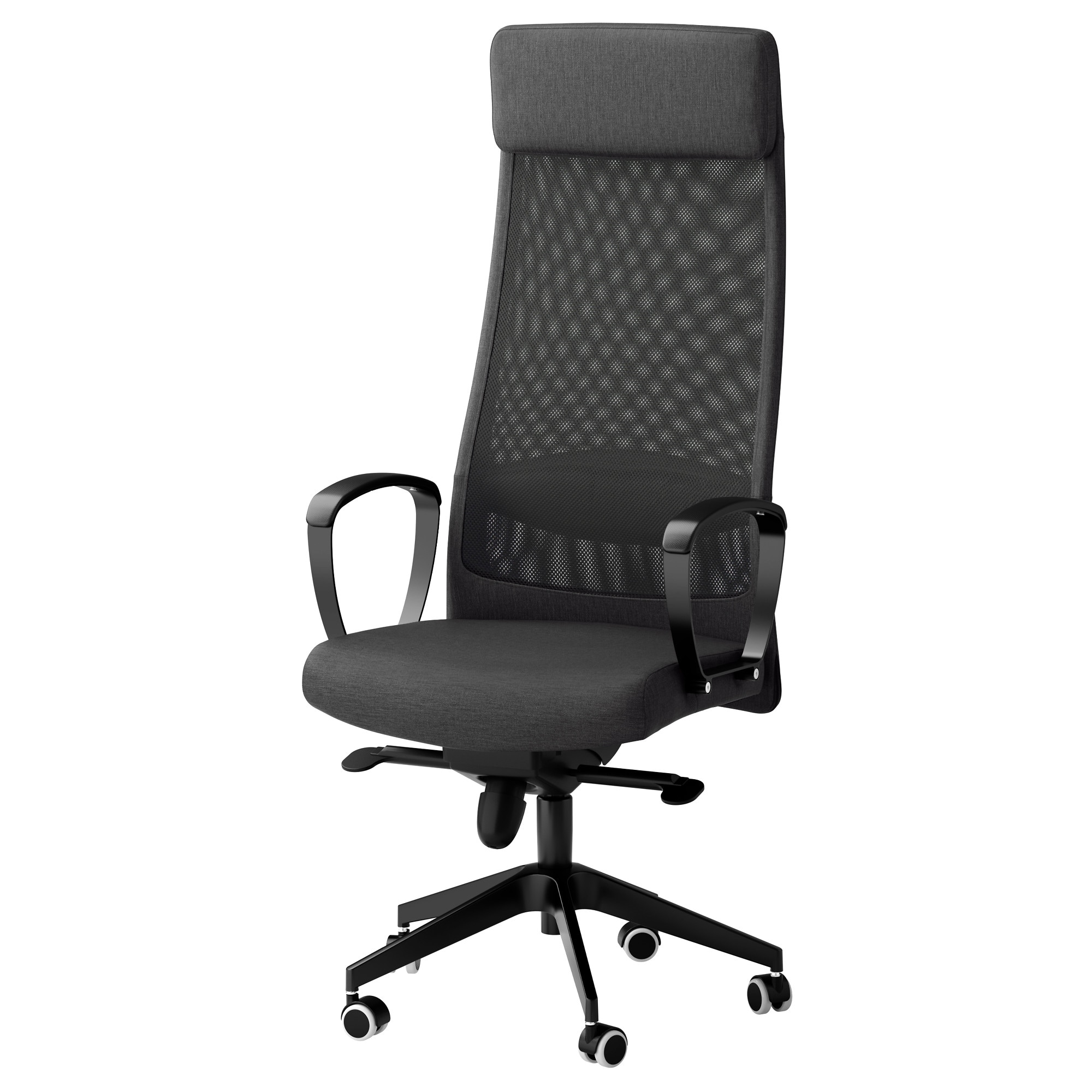 Markus Swivel Chair Vissle Dark Gray Tested For 242 Lb 8 Oz Width