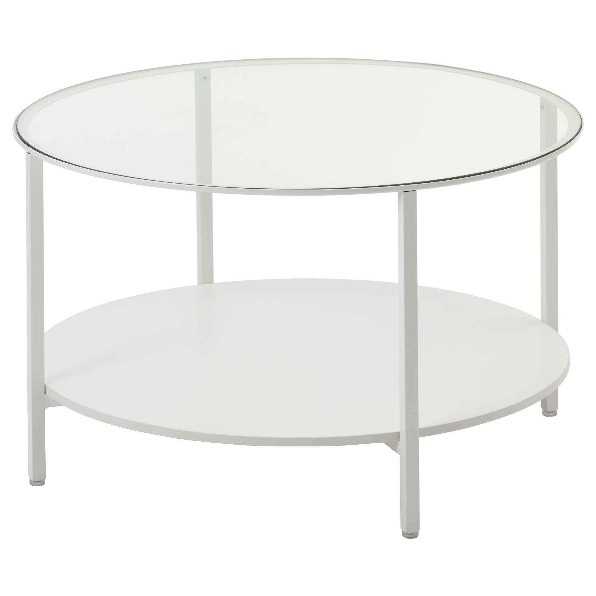 VITTSJÖ Coffee Table   White/glass   IKEA