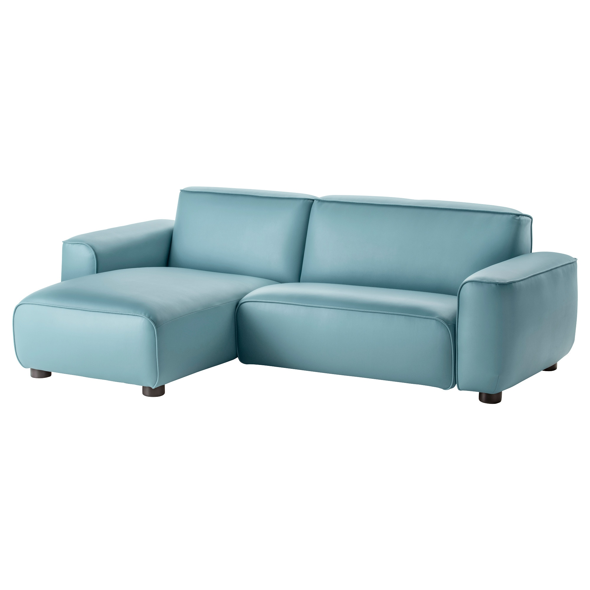 3 2 leather sofa deals - Dagarn Sectional 3 Seat Kimstad Turquoise Width 96 1 2