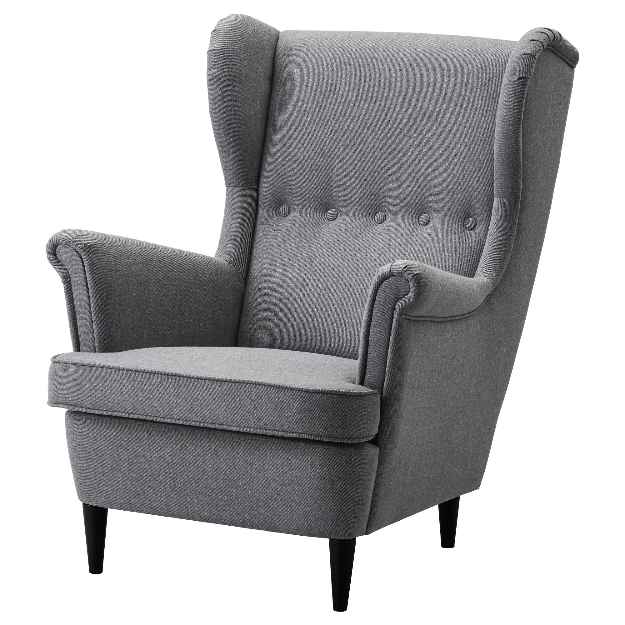 STRANDMON Wing chair   Nordvalla dark gray   IKEA. High Back Dining Chairs Ikea. Home Design Ideas