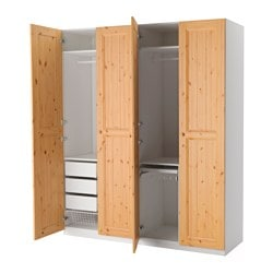 Pax system combinations with doors ikea - Commode porte coulissante ikea ...