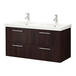 sink cabinet with 4 drawers black brown width 48 3 8 sink cabinet