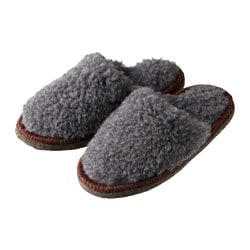 FEGEN slippers, grey