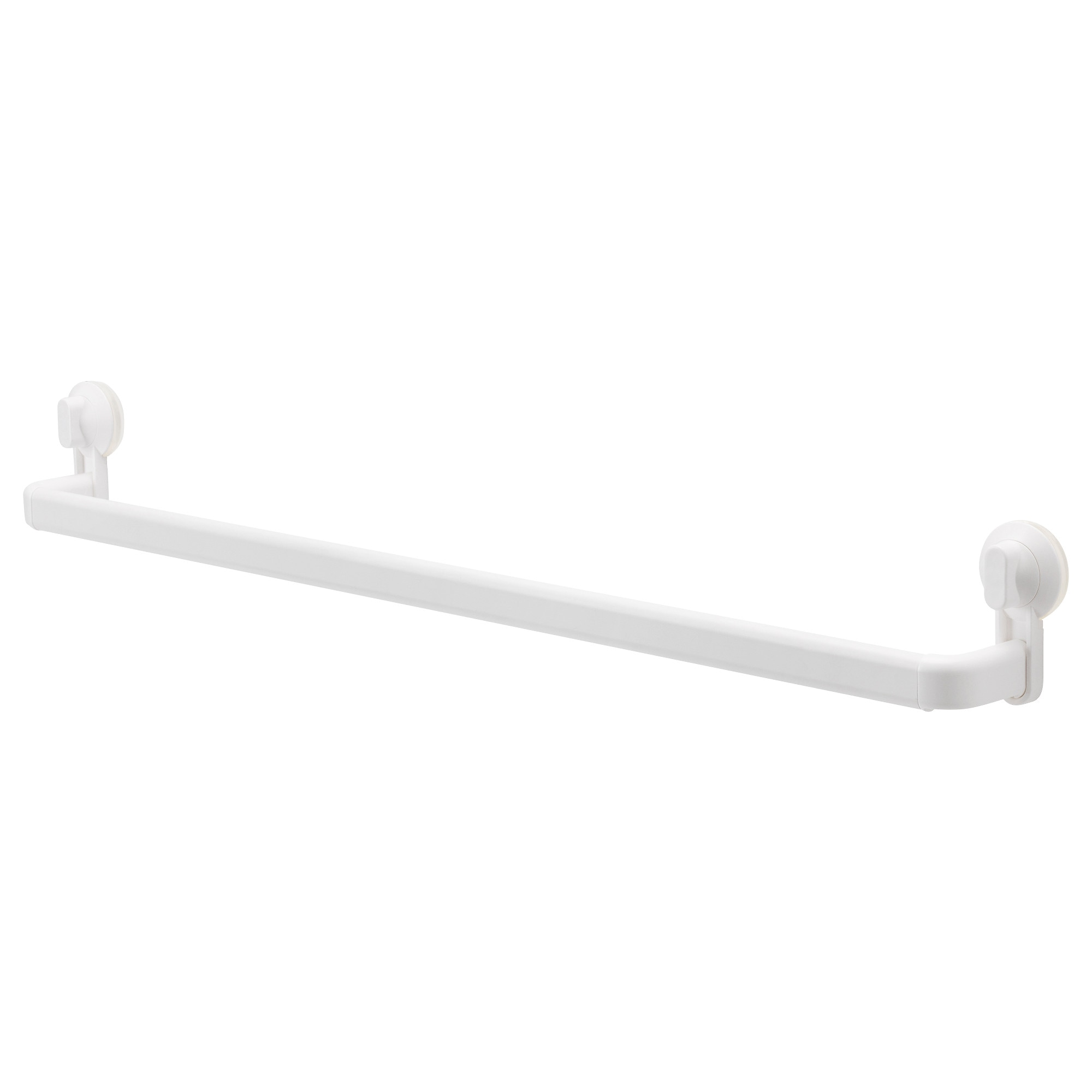 stugvik towel rack with suction cup white width 34 min width - Bathroom Accessories Towel Rail