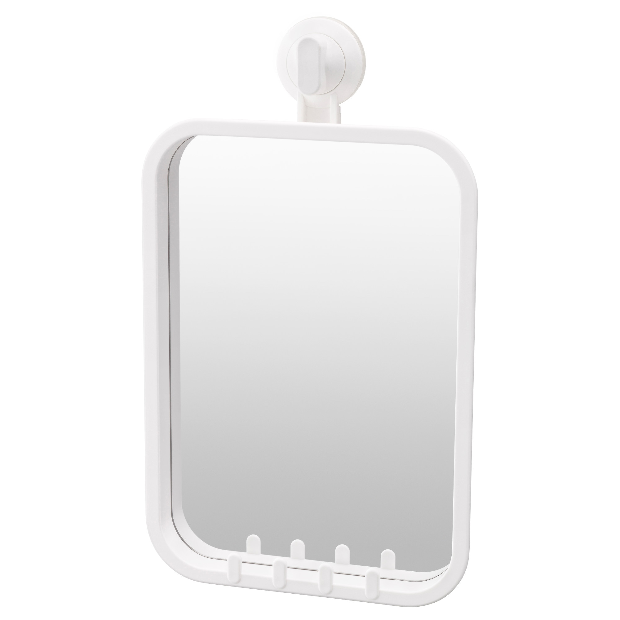 . STUGVIK Mirror with hooks and suction cup   IKEA