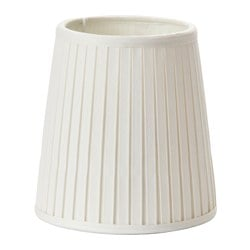 EKÅS lamp shade, off-white Diameter: 14 cm Height: 15 cm