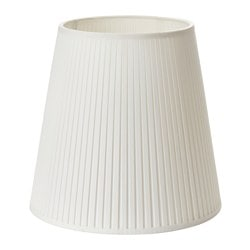 "EKÅS lamp shade, off-white Diameter: 13 "" Height: 13 "" Diameter: 34 cm Height: 34 cm"