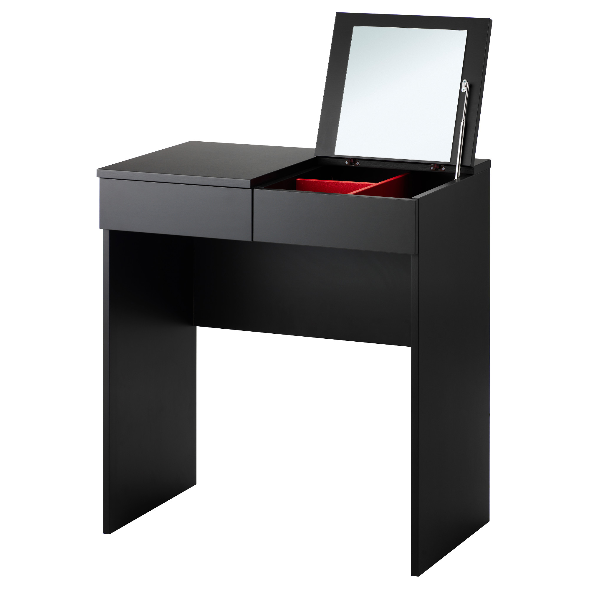 Coiffeuse meuble ikea table de lit for Commode miroir ikea