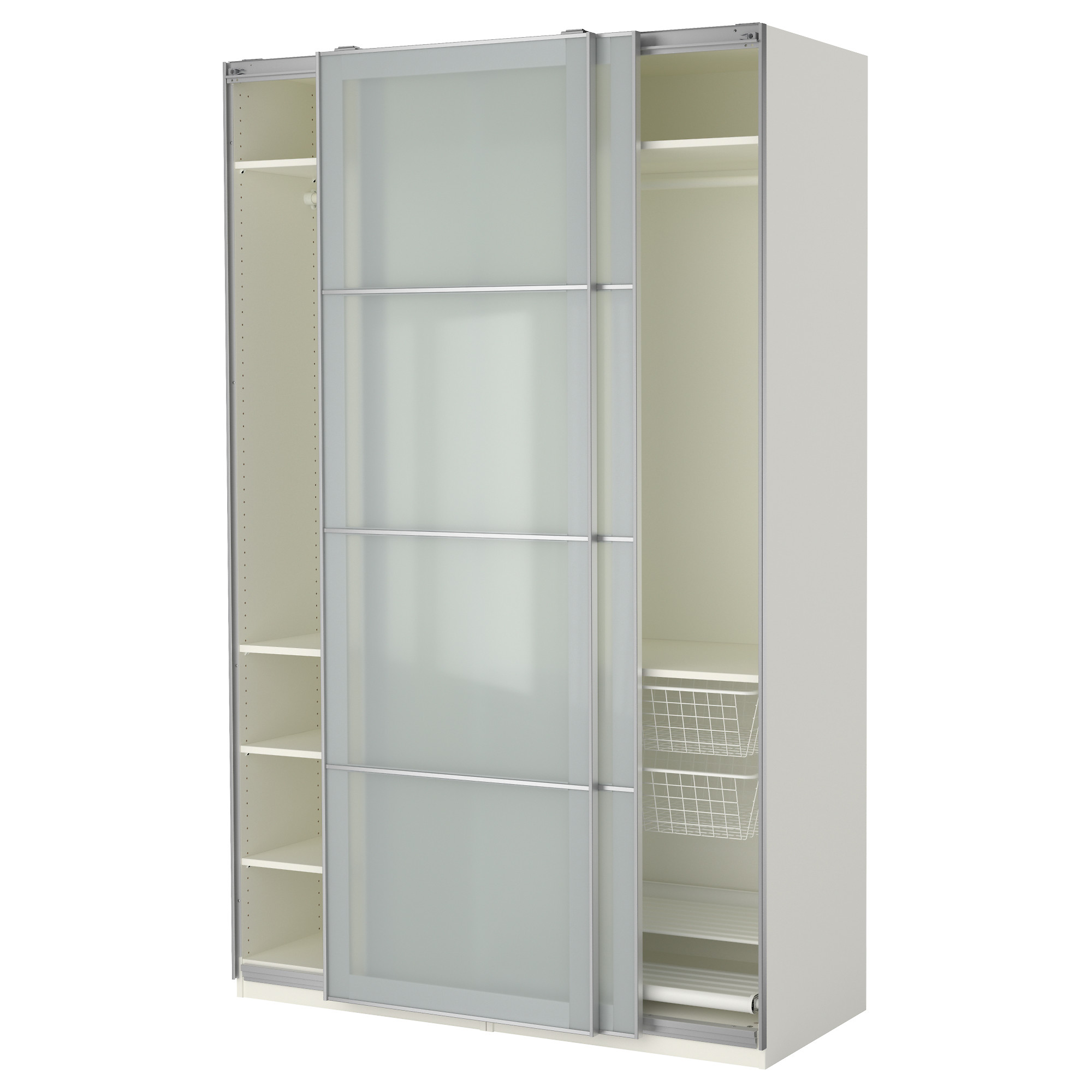 Armoire penderie ikea hopen for Armoire penderie