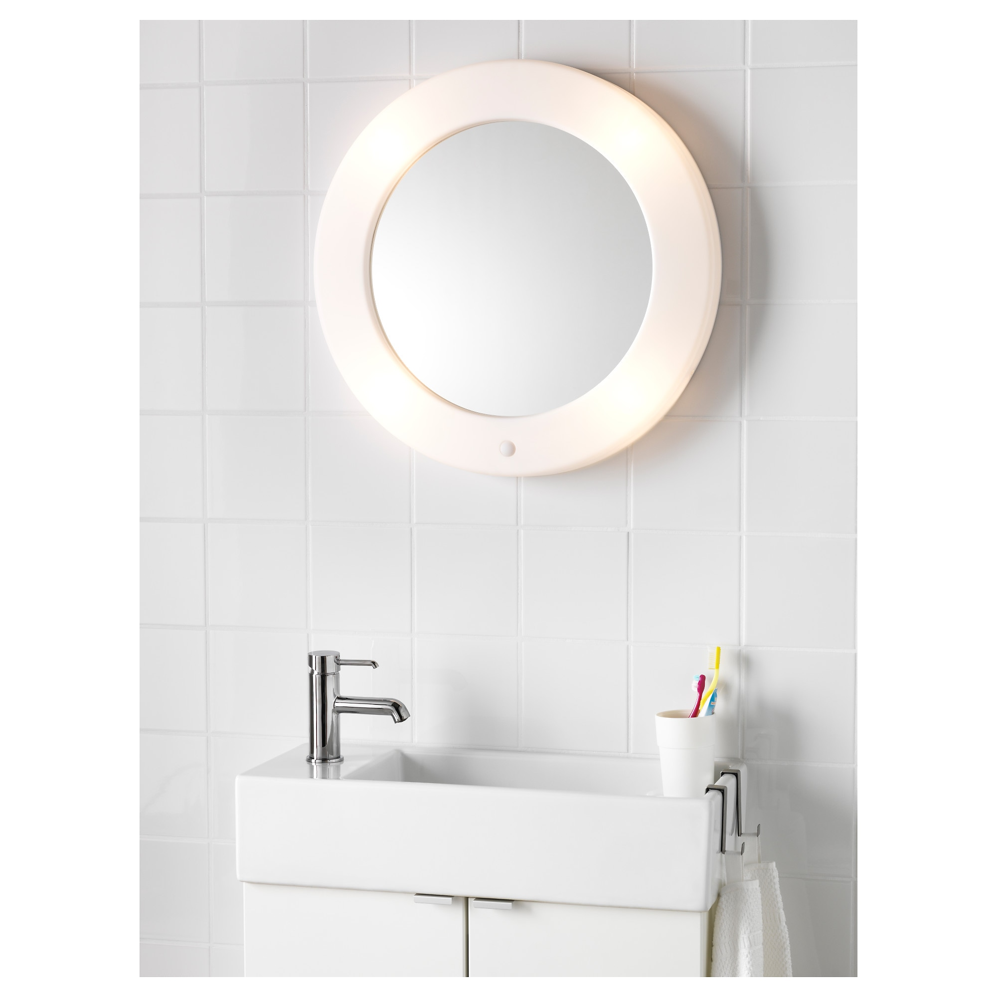 LILLJORM Mirror with integrated lighting IKEA