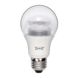 LEDARE LED bulb E26 600 lumen, globe clear, dimmable Luminous flux: 600 lm Power: 8.6 W