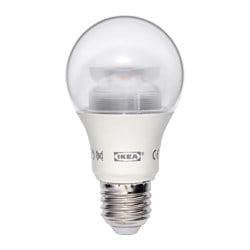 LEDARE LED bulb E27 600 lumen, dimmable, globe clear Luminous flux: 600 lm Power: 8.6 W