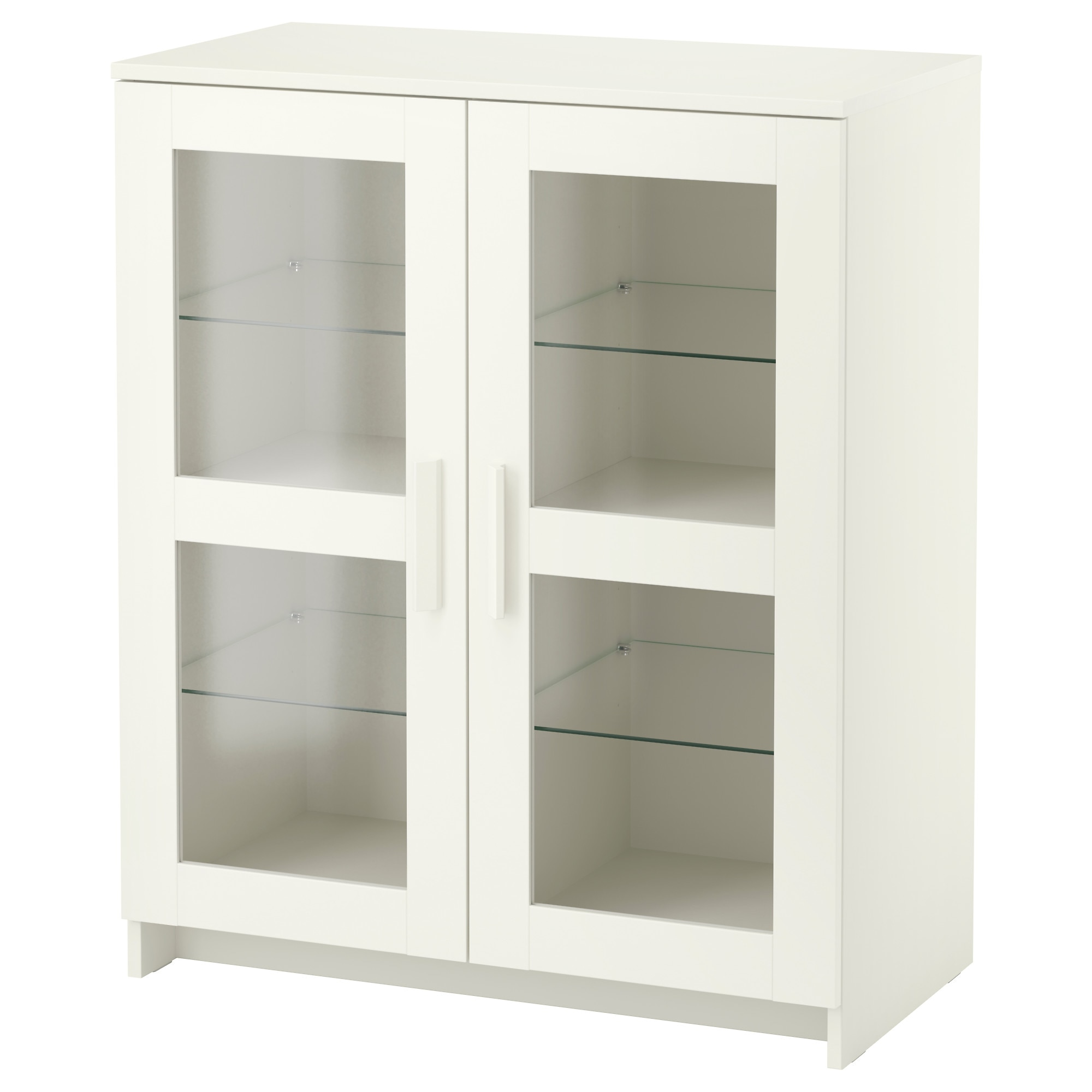 High Quality BRIMNES Cabinet With Doors   Glass/white   IKEA