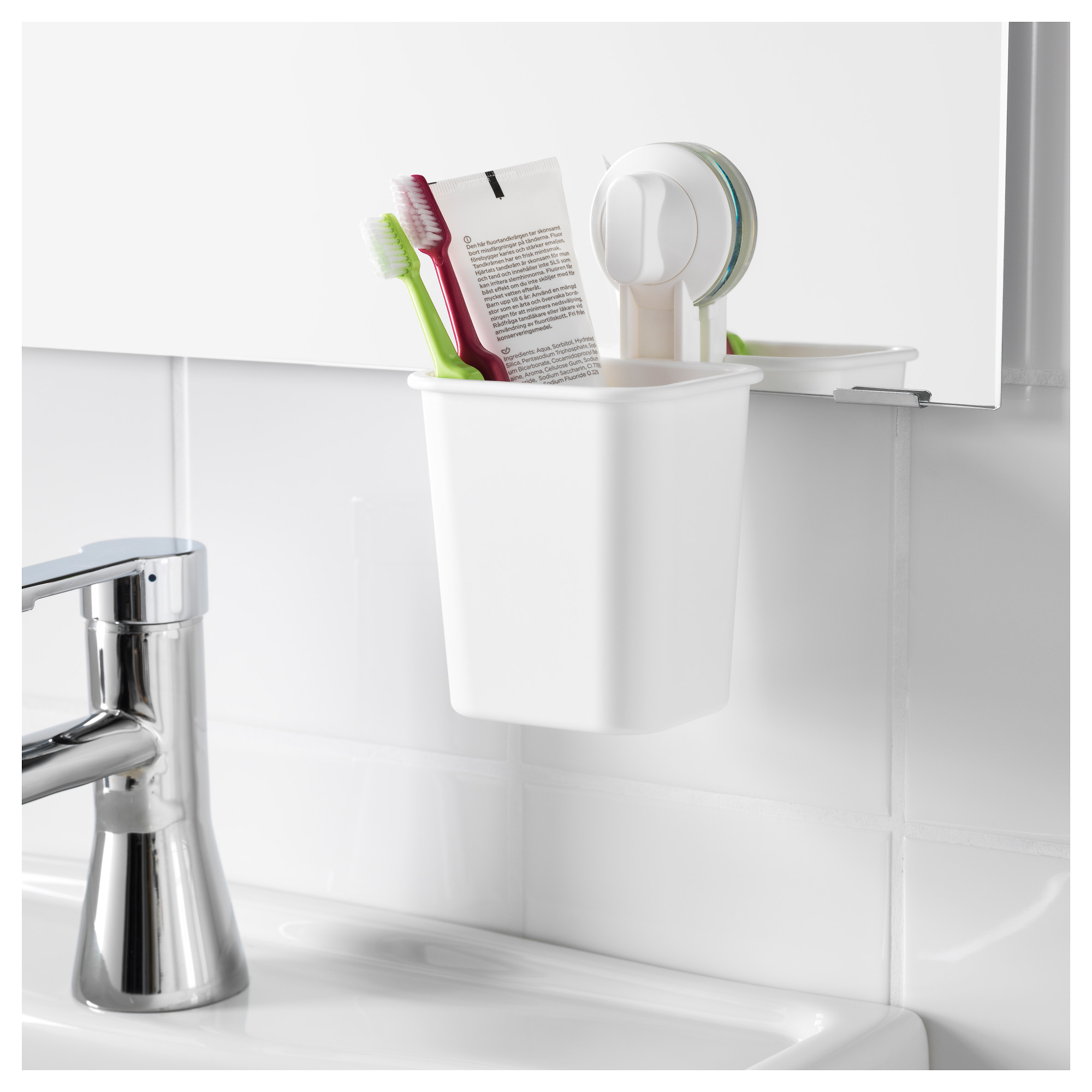 . STUGVIK Toothbrush holder with suction cup   IKEA