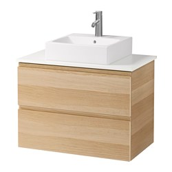 Meubles lavabo ikea for Meuble 45x45