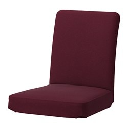 "HENRIKSDAL chair cover, Dansbo red-lilac Seat width: 21 "" Seat width: 54 cm"