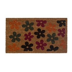 ESRUM door mat, multicolour