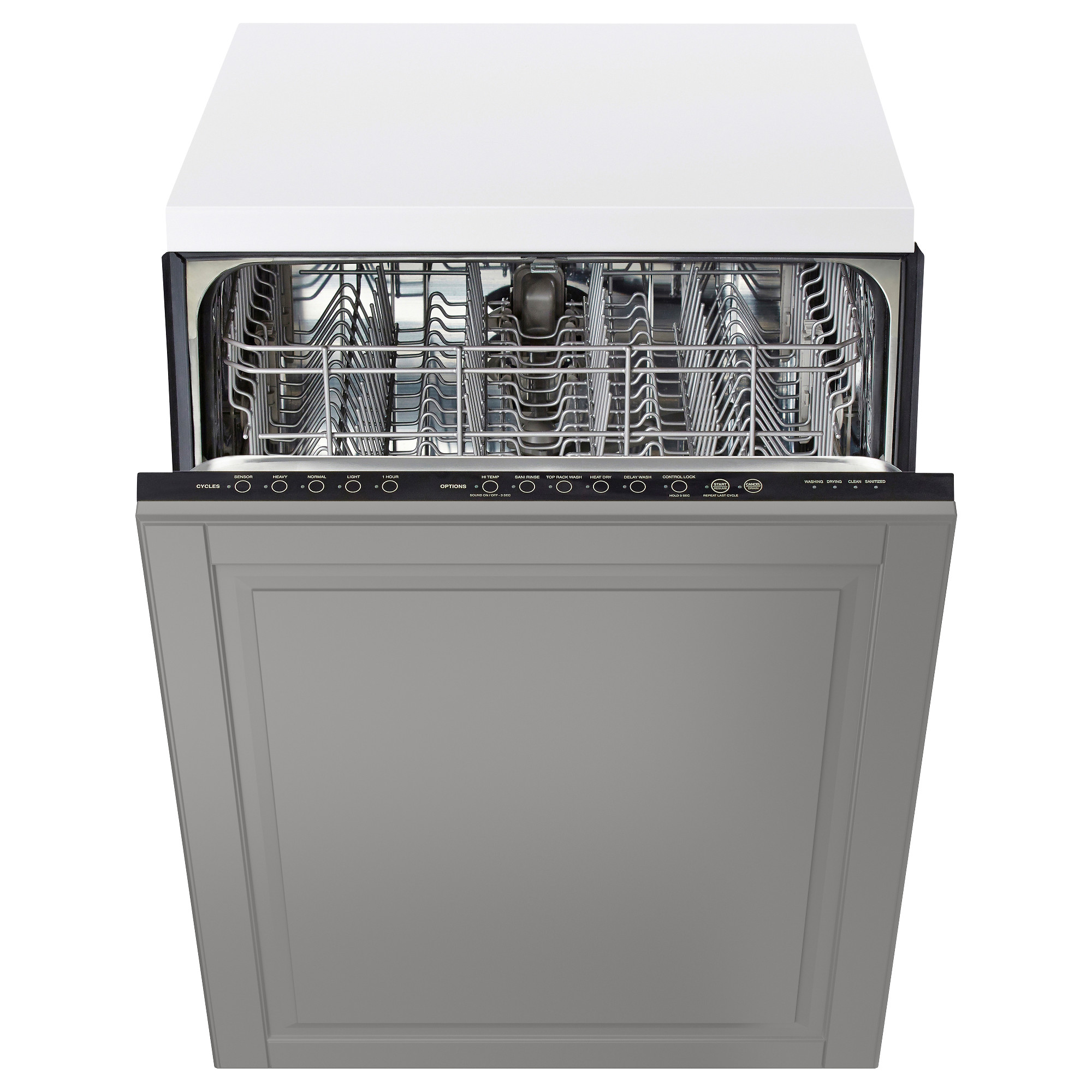 How wide is a standard dishwasher opening?