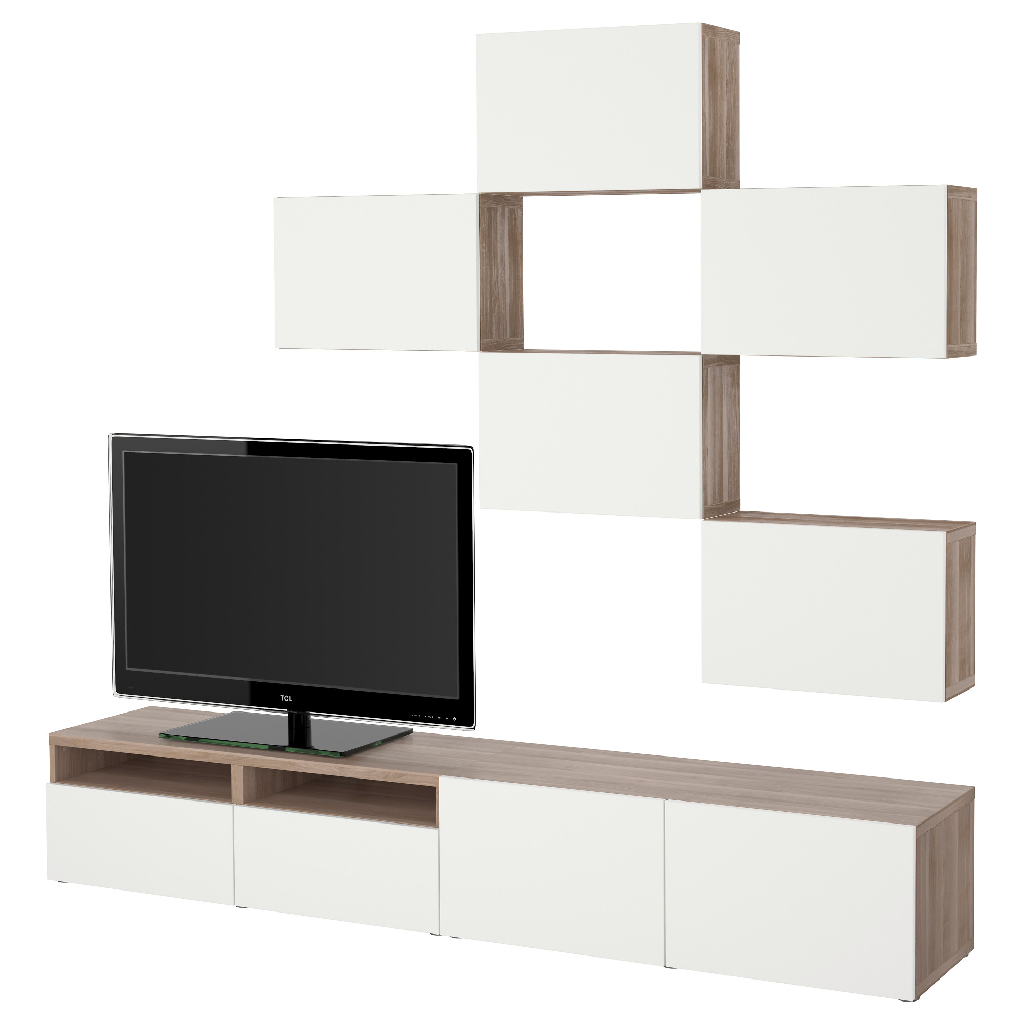 Meuble Ikea Tv - Best Tv Storage Combination Grey Stained Walnut Effect [mjhdah]http://www.ikea.com/be/fr/images/products/tomn%C3%A4s-meuble-tv-brun-noir__0381860_pe557461_s5.jpg