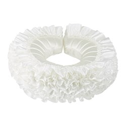 LATTJO queen collar, white Outside diameter: 37 cm Inside diameter: 12 cm