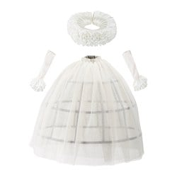 LATTJO queen costume, white