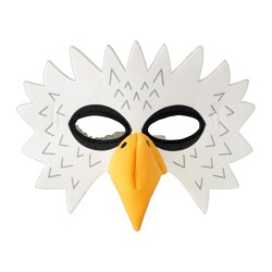 LATTJO, Eagle mask, white