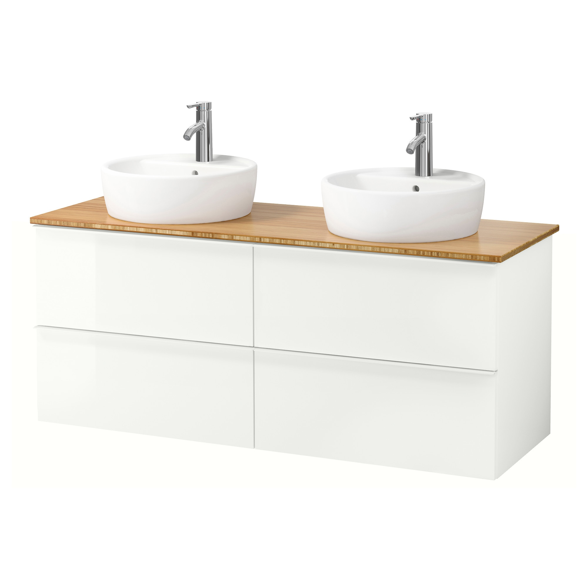 Awesome meuble lavabo salle de bain dimension contemporary for Meubles lavabo ikea