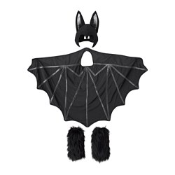 LATTJO bat costume, black