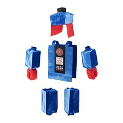 LATTJO, Robot costume, blue