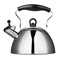 OMELETT kettle, stainless steel Volume: 1.8 l