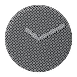 SIPPRA wall clock, grey Depth: 3.5 cm Diameter: 30 cm